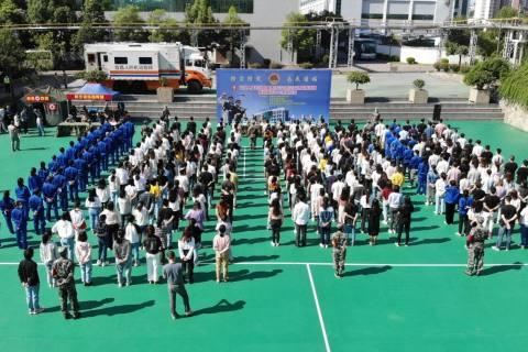 宜昌市開展九一八防空應急疏散演練