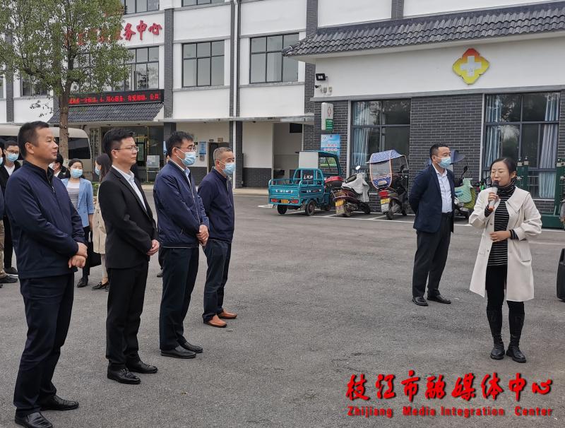 民政部社会救助司副司长张伟一行来枝调研
