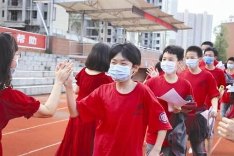 """2020年中考昨日開考 宜昌5萬余名學子首赴""""新中考"""""""