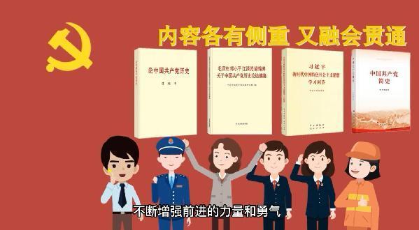 动画丨【和光小明一起学党史】党史学习,这四本书不能少!
