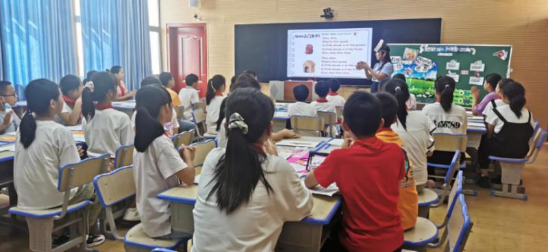 枝江市仙女小学:真实课堂 快乐学习